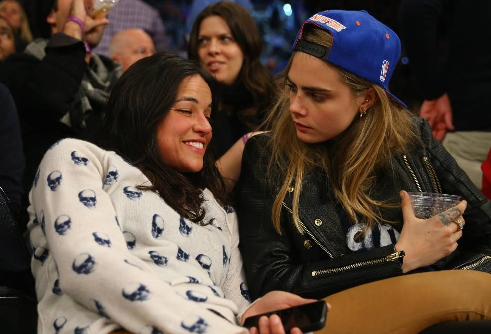 Broody Michelle Rodriguez: Cara Delevingne is 'The One'