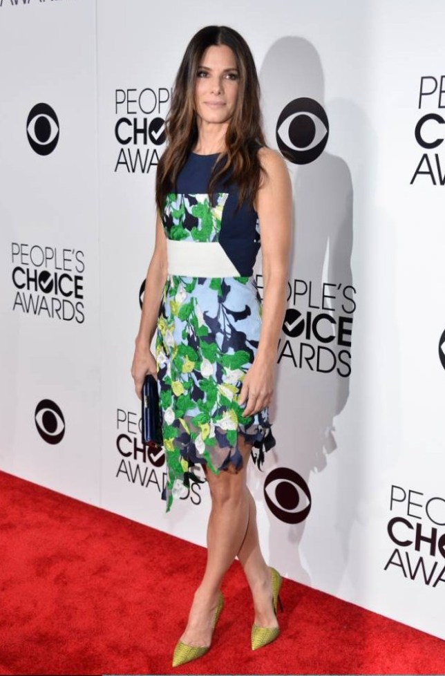 LOS ANGELES, CA - JANUARY 08:  Actor Sandra Bullock attends The 40th Annual People's Choice Awards at Nokia Theatre L.A. Live on January 8, 2014 in Los Angeles, California.  (Photo by Frazer Harrison/Getty Images for The People's Choice Awards)