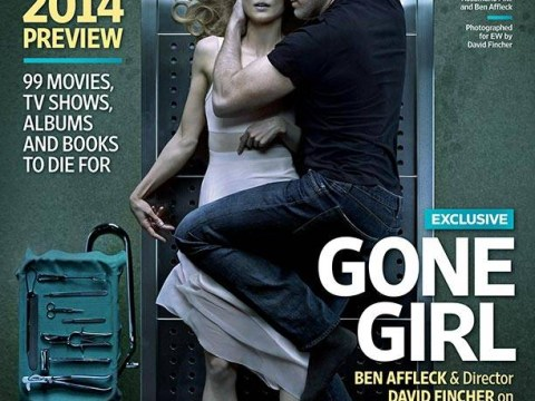 Ben Affleck cuddles up to Rosamund Pike's corpse in disturbing Gone Girl photo