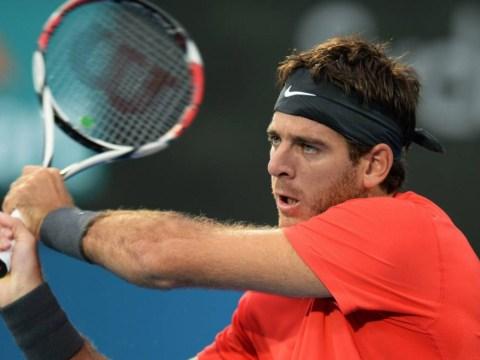 Australian Open 2014: Juan Martin Del Potro down to last two racquets in Melbourne