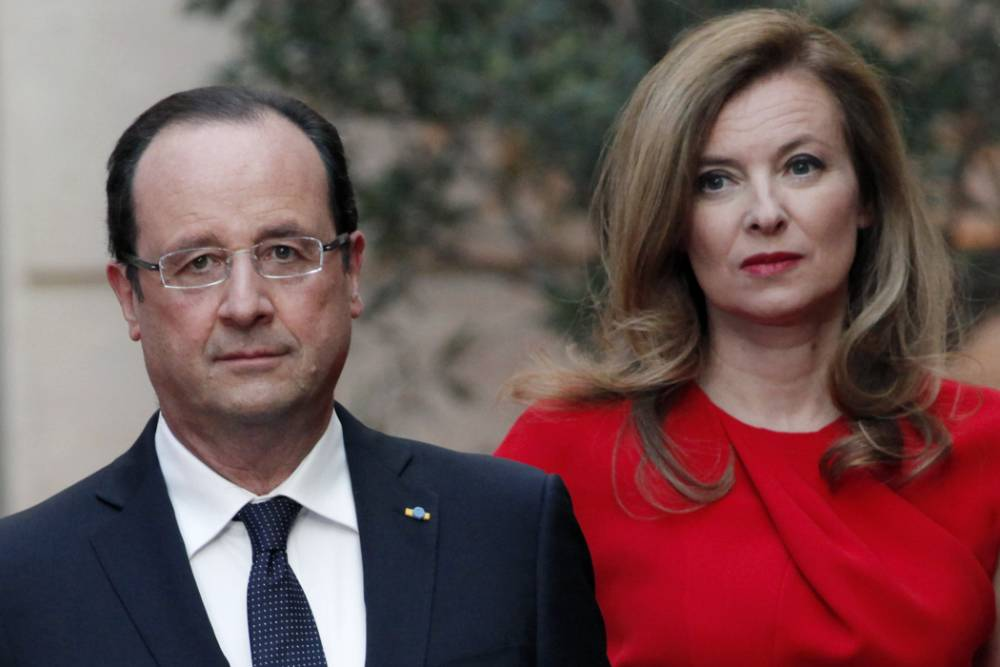 French president Francois Hollande's partner Valerie Trierweiler hospitalised amid claims leader is having affair