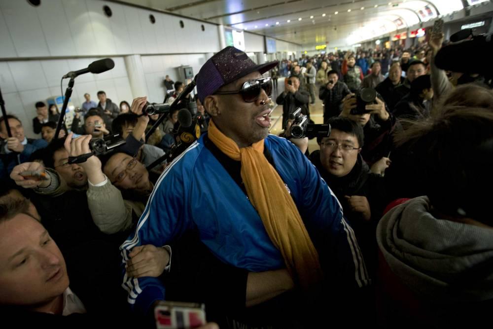 Dennis Rodman leaves North Korea and checks himself into alcohol treatment programme
