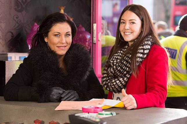 Eastenders: Stacey Branning and Kat Slater
