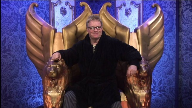 Celebrity Big Brother, shown on Channel 5 HD Featuring: Jim Davidson When: 15 Jan 2014 Credit: Supplied by WENN **WENN does not claim any ownership including but not limited to Copyright or License in the attached material. Any downloading fees charged by WENN are for WENN's services only, and do not, nor are they intended to, convey to the user any ownership of Copyright or License in the material. By publishing this material you expressly agree to indemnify and to hold WENN and its directors, shareholders and employees harmless from any loss, claims, damages, demands, expenses (including legal fees), or any causes of action or  allegation against WENN arising out of or connected in any way with publication of the material.offline**