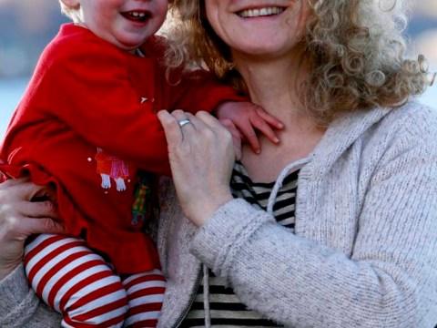 You're under a vest: Police swoop on mum over no-coat baby