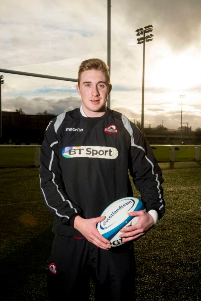 15/01/14 MURRAYFIELD - EDINBURGH Edinburgh's Dougie Fife is proud to receive a call-up to the Scotland squad as they take part in the RBS 6 Nations.