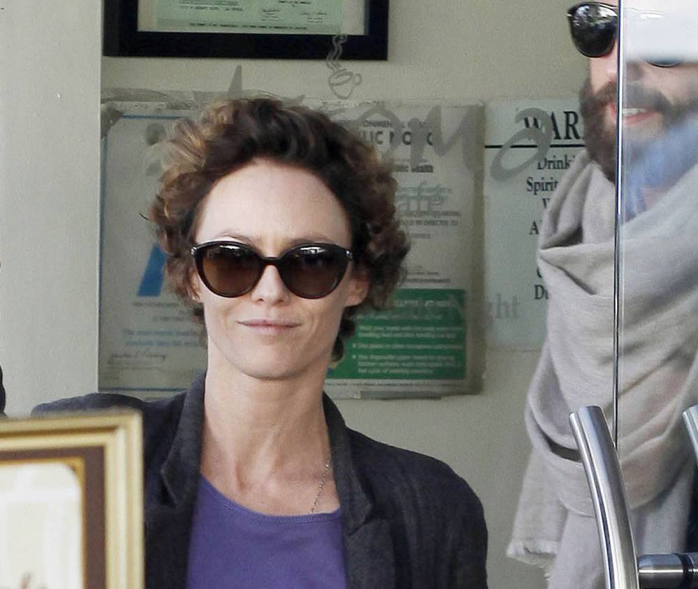 Vanessa Paradis shows off drastic new look as ex Johnny Depp 'proposes' to Amber Heard