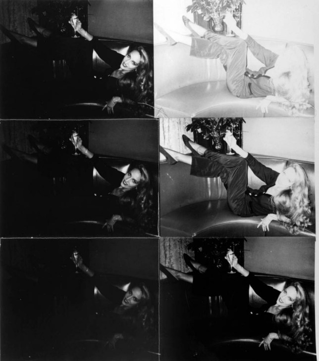 Jerry Hall Reclining On Couch (1976-1987) by Andy Warhol (Picture:  Andy Warhol Foundation/Bischofberger Collection)