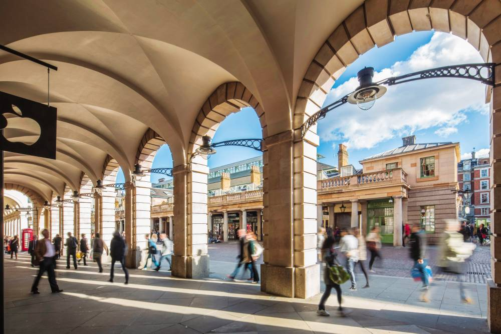 Covent Garden: Destined to become a hub for male fashionistas?