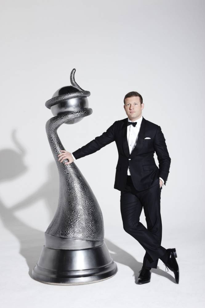 Dermot O'Leary presents the 19th National Television Awards (Picture: Alex James)