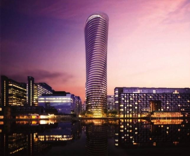 Isle of Dogs: The 45-storey Baltimore Tower by Galliard Homes (Picture: supplied)