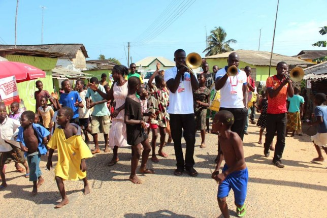 Asa Baako festival in Ghana (Picture: supplied)