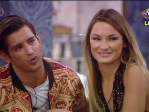 Celebrity Big Brother's Ollie Locke tells Sam Faiers: You're very beautiful