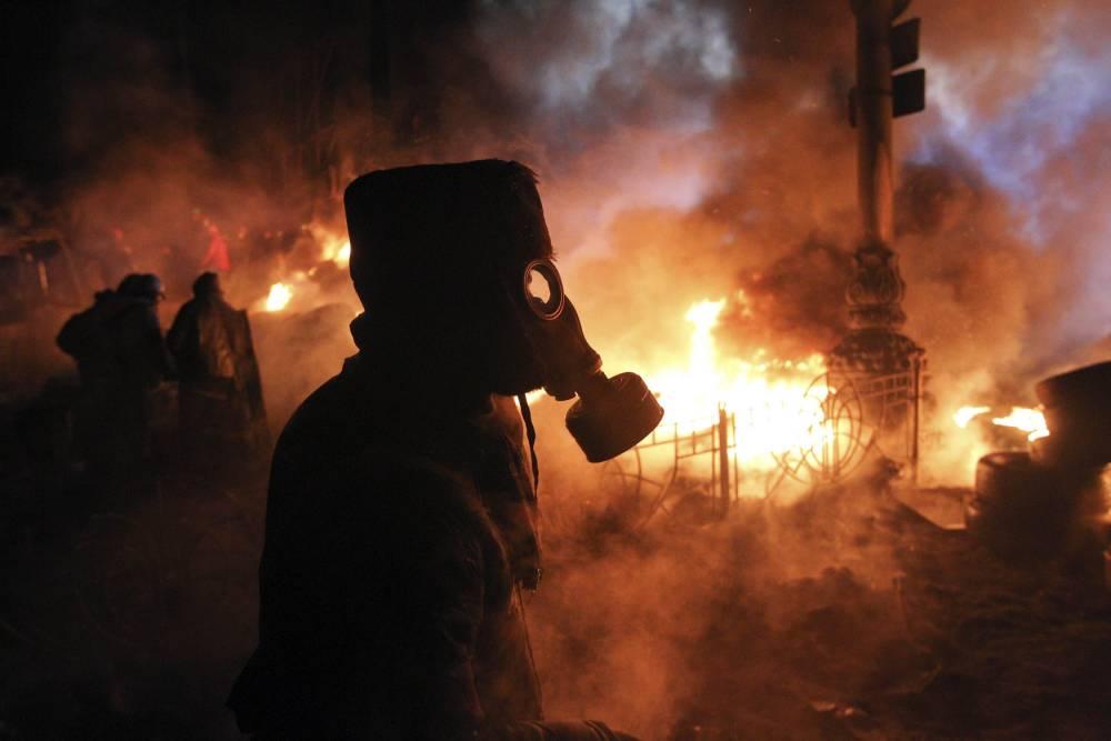 Ukraine protests: 13 apocolyptic pictures of Kiev's streets of rage