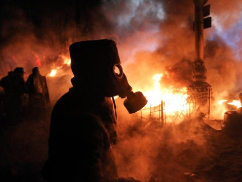 Ukraine protests: 13 explosive pictures of Kiev's streets of rage