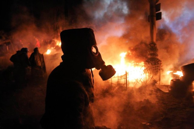 Ukraine protests: 13 apocolyptic pictures of Kiev's streets of rage