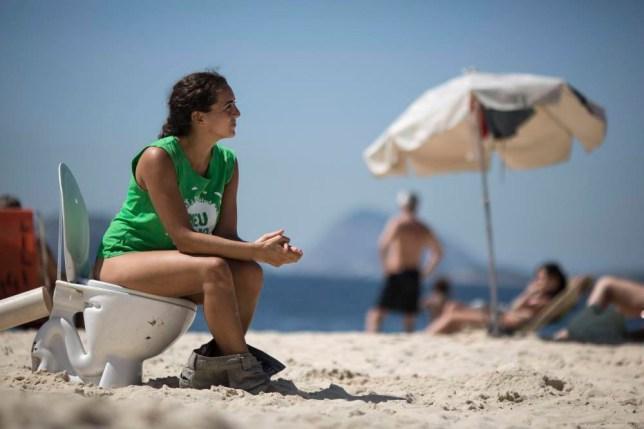 Rio de Janeiro, protest