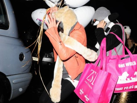 Another date night? Cara Delevingne and Michelle Rodriguez enjoy another night out at sister Chloe's hen do