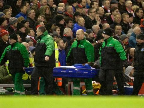 Everton suffer another blow as Gareth Barry injures team-mate Romelu Lukaku in Merseyside derby