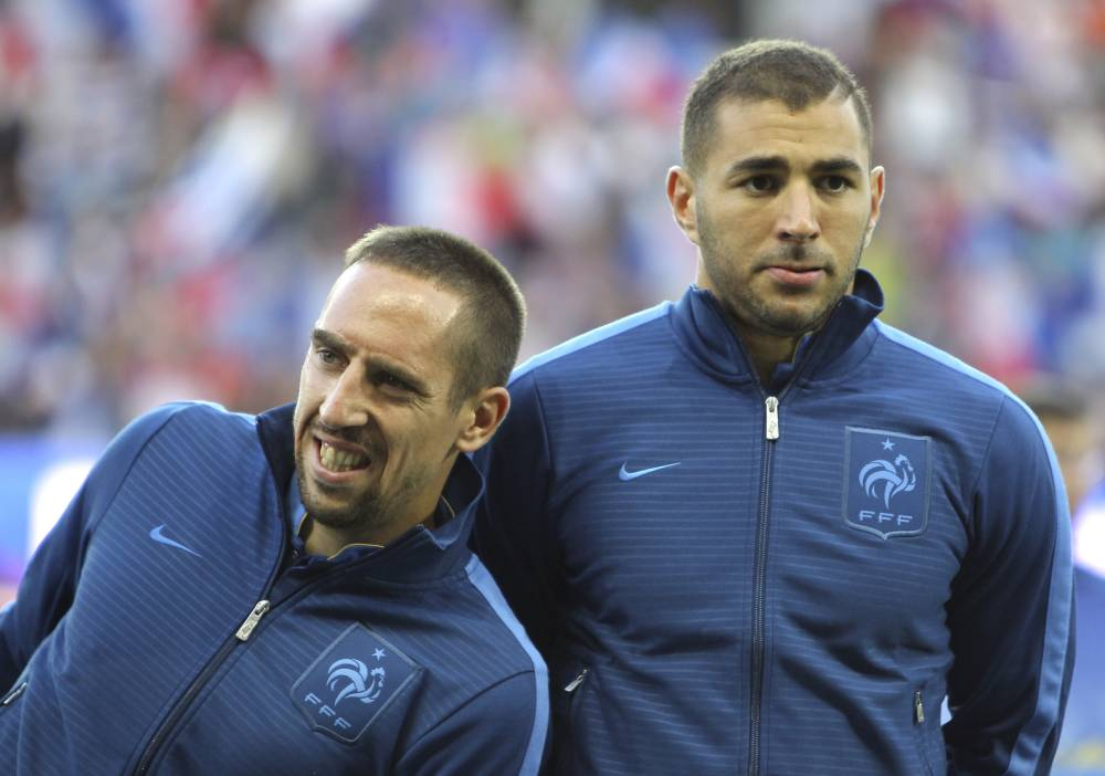 Franck Ribery and Karim Benzema acquitted in underage prostitute case
