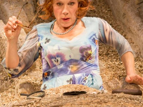 Happy Days at the Young Vic shows Juliet Stevenson at her finest as Beckett's helpless heroine