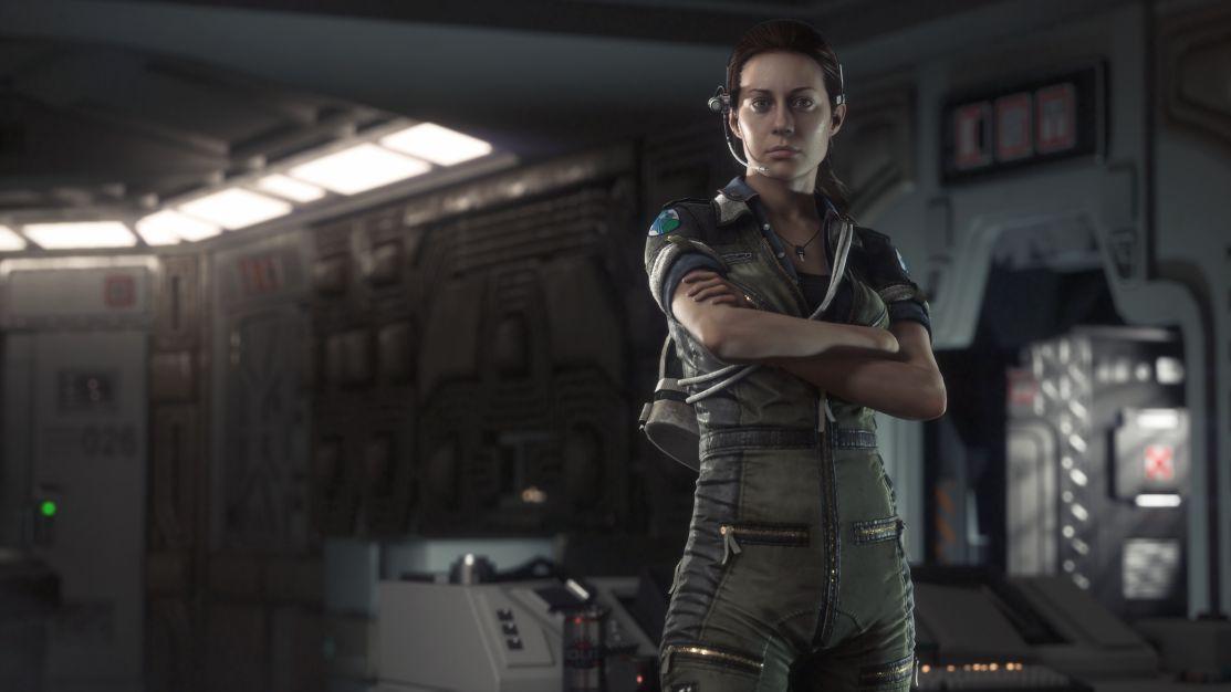 Alien Isolation - Amanda Ripley wants her mummy