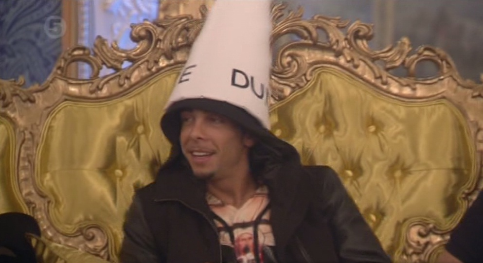 Celebrity Big Brother 2014: Dappy flips out at Big Brother after losing IQ test to Luisa Zissman