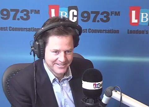 Nick Clegg on Boris Johnson's condom slur: 'I've had nicer birthday wishes than that'