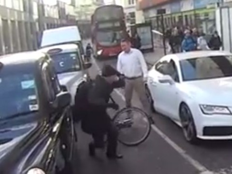 YouTube footage emerges of cyclist attacked in 'road rage' incident