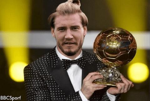 Emmanuel Frimpong trolls Arsenal team-mate Nicklas Bendtner by suggesting he should have won Ballon d'Or