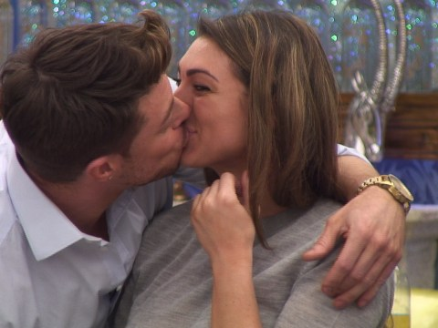Duncan James puts Luisa Zissman out of her misery when Blue enter Celebrity Big Brother house