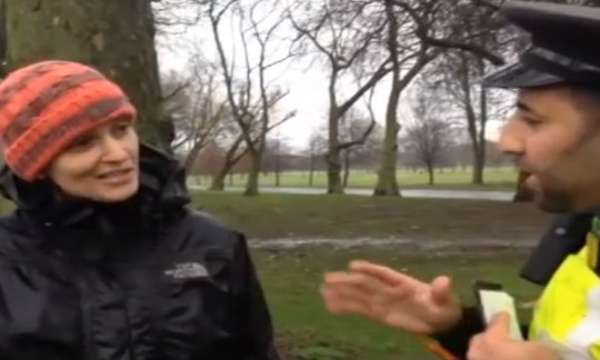 Video: Tower Hamlets council official calls police in dog poo row