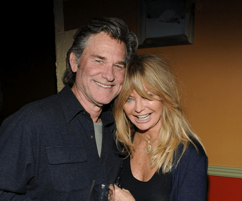 Goldie Hawn - with long-term lover Kurt Russell - has said she finds Bieber's situation heart breaking (Picture: Goldie Hawn Twitter)