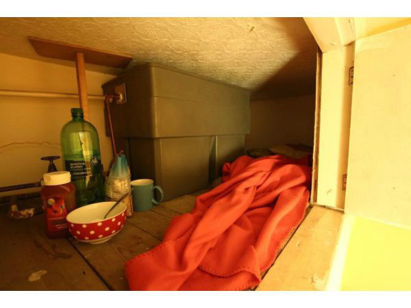 Fancy living in a cupboard? Ridiculous London 'room for rent' – only suitable if you're less than 5ft 4in with no history of claustrophobia