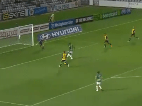 Up to his old tricks! Emile Heskey makes shocking miss for Newcastle Jets