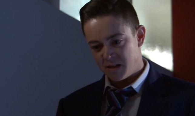 Keith Rice as Finn O'Connor in Hollyoaks