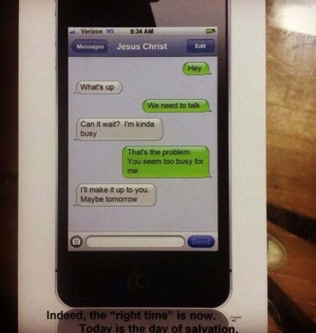Christian group's iPhone 'Jesus text' campaign backfires