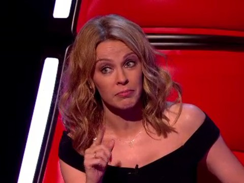 Kylie Minogue falls for French actor's nose