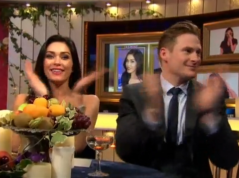 Lee Ryan and Jasmine Waltz are ecstatic as Casey Batchelor vows to leave them alone