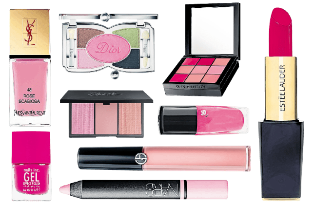 Beauty brands are going pink this week (Picture: supplied)