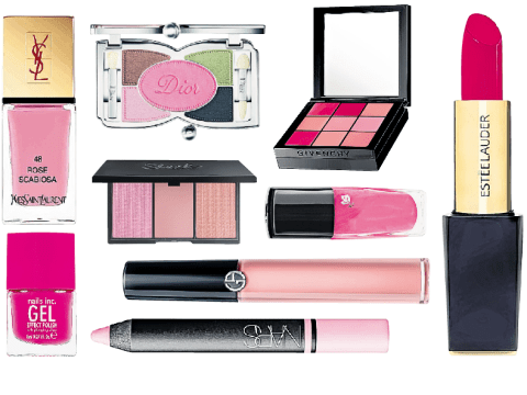 Yves Saint Laurent, Estee Lauder, Dior and more: Pink beauty launches