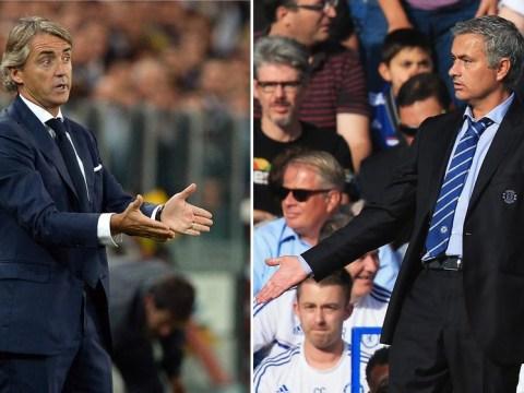 Roberto Mancini: Chelsea boss Jose Mourinho won Champions League at Inter Milan with MY team