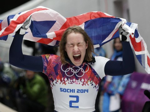 Lizzy Yarnold wins skeleton gold for Team GB at Sochi Winter Olympics