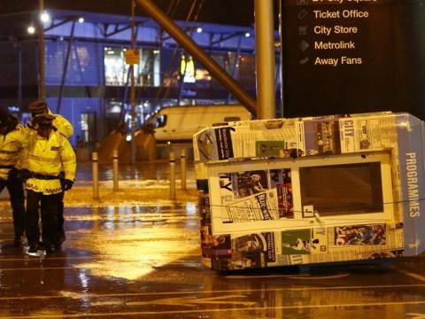 Manchester City forced to postpone Sunderland match as high winds make Etihad Stadium 'unsafe'