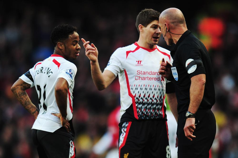 What has Howard Webb ever done to Liverpool? How about this for starters!