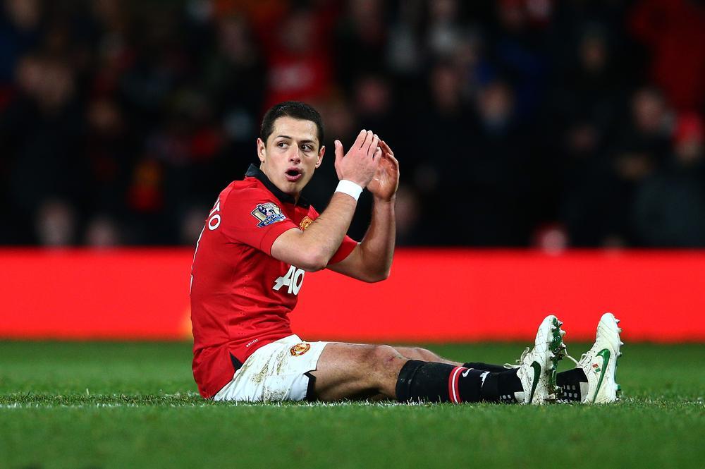 Javier Hernandez 'hits back' at unhappy Manchester United team-mate Robin Van Persie