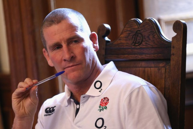 BAGSHOT, ENGLAND - FEBRUARY 03: Stuart Lancaster, the England head coach, faces the media at a press conference held at Pennyhill Park on February 3, 2014 in Bagshot, England. David Rogers/Getty Images