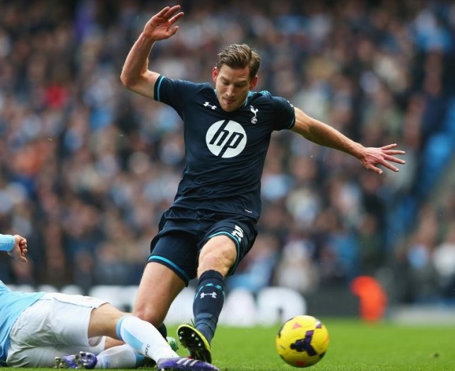 Jan Vertonghen in action for Spurs (Picture: Getty Images)