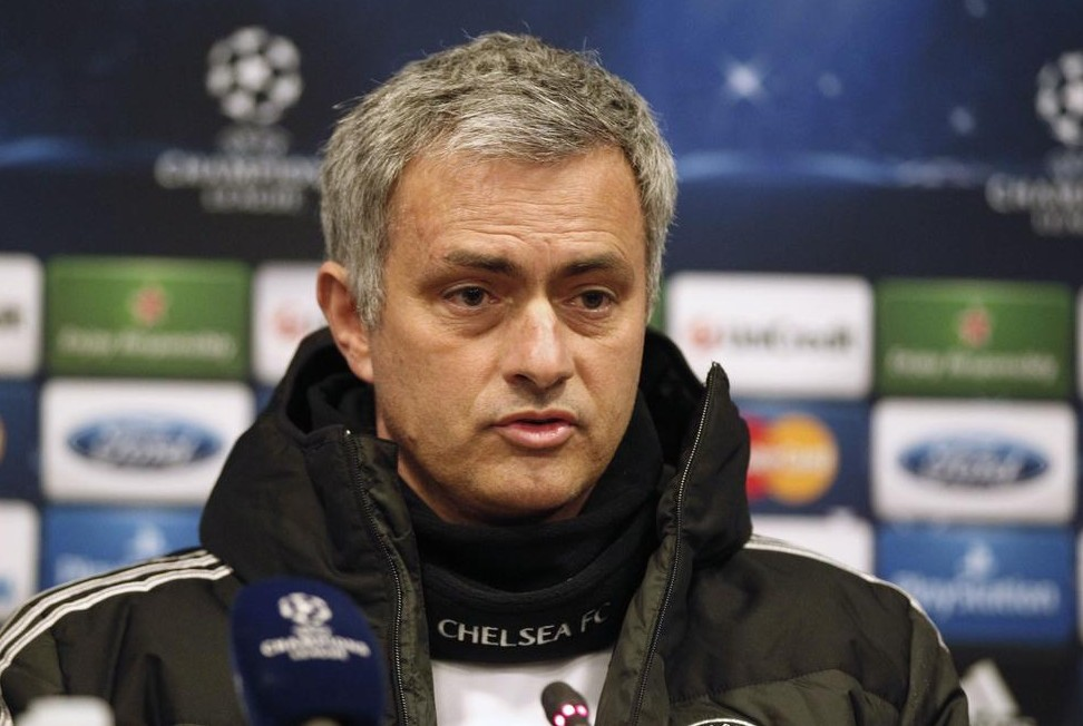 Chelsea's manager Jose Mourinho attends a news conference a day before their Champions League soccer match against Galatasaray in Istanbul February 25, 2014. REUTERS/Osman Orsal Osman Orsal / Reuters/Reuters