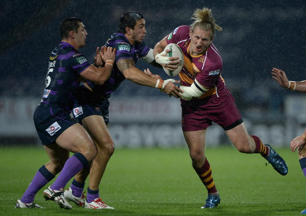 Eorl Crabtree: Opening Wigan encounter can give Huddersfield giant test